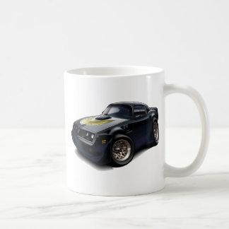 Coche negro 1979-81 del transporte taza de café