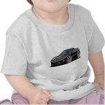Coche negro 1998-02 del transporte camisetas