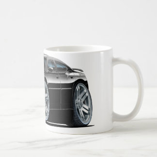 Coche negro de Daytona del cargador de Dodge Tazas De Café