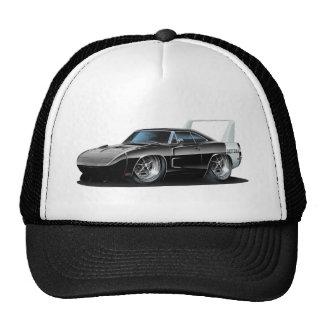 Coche negro de Dodge Daytona Gorros