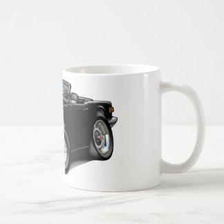 Coche negro de Triumph TR6 Taza