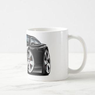 Coche negro del RT del cargador de Dodge Tazas De Café