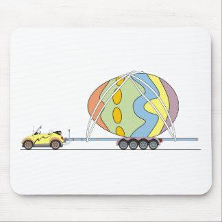 Coche Pascua de Eco Mousepads