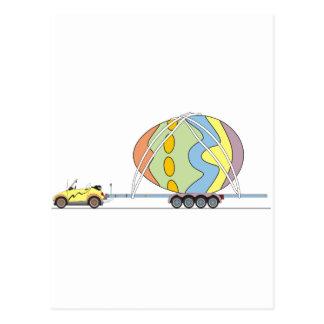 Coche Pascua de Eco Postales