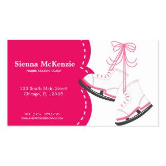 Coche patinador tarjetas de negocios