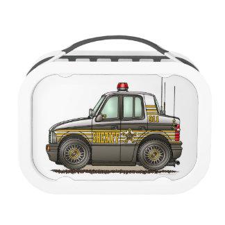 Coche patrulla del coche del sheriff