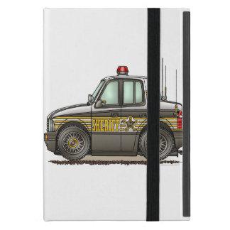 Coche patrulla del coche del sheriff iPad mini carcasas