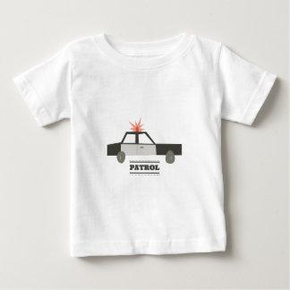 Coche patrulla t-shirts
