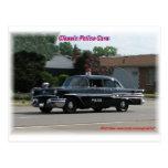 Coche policía 1957 de Pontiac Laurentian Postal