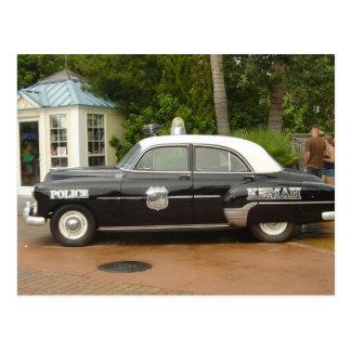 Coche policía de 51 Chevrolet Tarjetas Postales