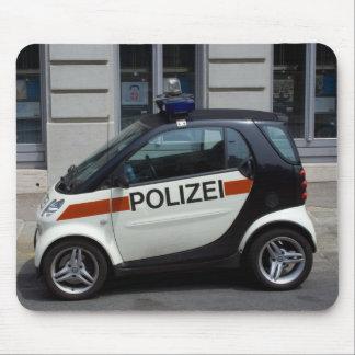 coche policía elegante alfombrilla de ratones