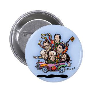 Coche primario del GOP Pin Redondo 5 Cm