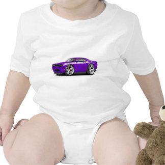 Coche Púrpura-Blanco 2009-11 del RT del desafiador Traje De Bebé