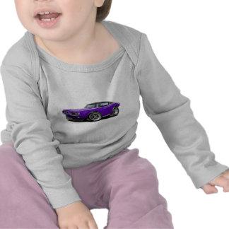 Coche Púrpura-Negro 1971-72 del cargador Camisetas