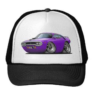 Coche Púrpura-Negro 1971-72 del Roadrunner Gorra