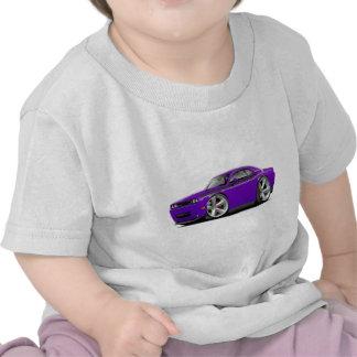 Coche Púrpura-Negro 2009-11 del RT del desafiador Camiseta