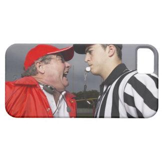 Coche que grita en el árbitro funda para iPhone SE/5/5s