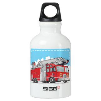 Coche rojo del coche de bomberos o de bomberos