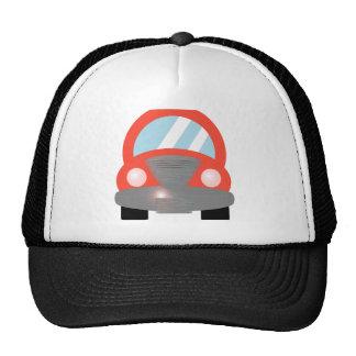 Coche rojo gorra