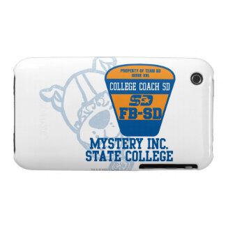 Coche SD de la universidad de estado de Mystery Case-Mate iPhone 3 Carcasa