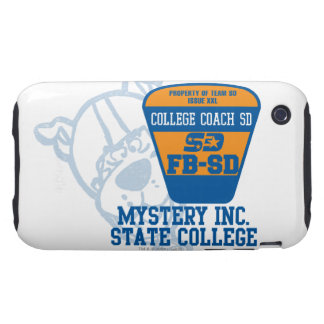 Coche SD de la universidad de estado de Mystery iPhone 3 Tough Cobertura