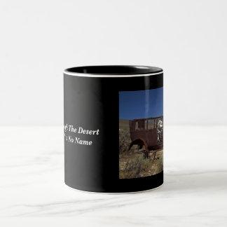 Coche sin la taza de café conocida
