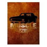 Coche V8 del músculo Postal