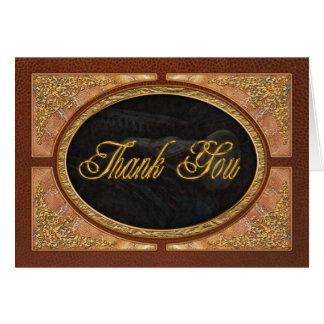 Coche - vapor - encantador de serpiente tarjeta de felicitación