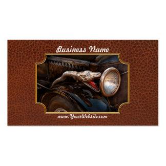 Coche - vapor - encantador de serpiente tarjetas de visita
