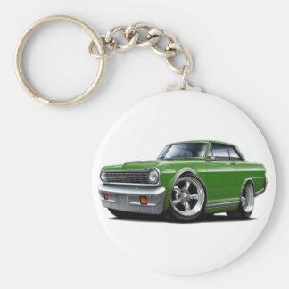 Coche verde 1964-65 de Nova Llavero Personalizado