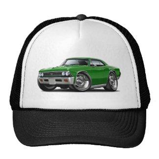 Coche verde 1966 de Chevelle Gorra