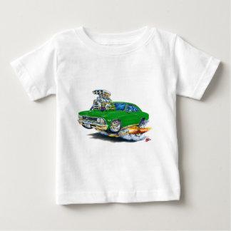 Coche verde 1966 de Chevelle Playera De Bebé