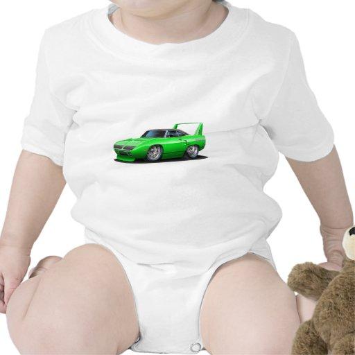 Coche verde 1970 de Plymouth Superbird Trajes De Bebé
