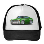 Coche verde 1971-72 de Chevelle Gorra