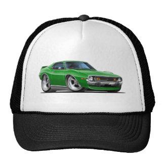 Coche verde 1971-72 de la jabalina gorras de camionero