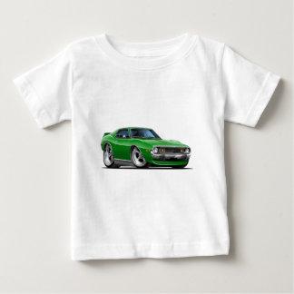 Coche verde 1971-72 de la jabalina playera de bebé