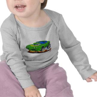 Coche verde 1979-81 del transporte camisetas