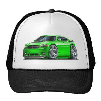 Coche verde de Daytona del cargador de Dodge Gorro