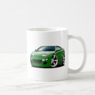 Coche verde de Nissan 300ZX Taza