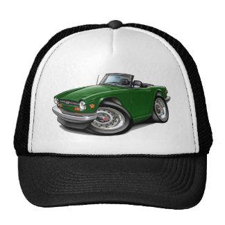 Coche verde de Triumph TR6 Gorro De Camionero