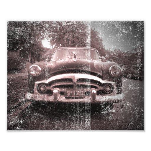 Coche viejo del vintage impresiones fotograficas