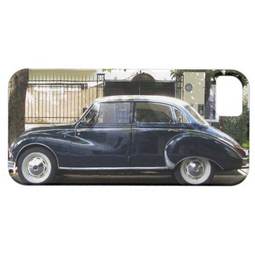 Coche viejo pero muy bien guardado de Audi iPhone 5 Case-Mate Protectores