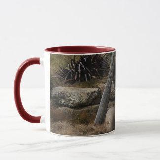 Coche viejo taza