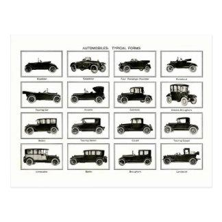 Coche viejo y clásico (auto retro): Coches del Tarjeta Postal