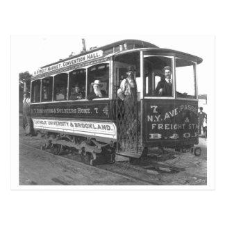 Coche Washington D C Vintage 1890 de la calle Postales