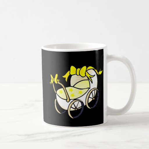 Cochecillo amarillo taza