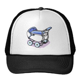 cochecillo azul gorras