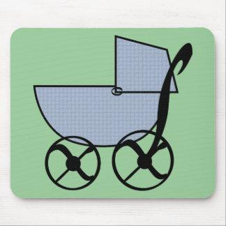 Cochecillo de bebé Mousepad Alfombrillas De Raton