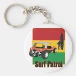 Cochecillo jamaicano de Rasta Surfpatrol Llavero Personalizado