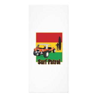 Cochecillo jamaicano de Rasta Surfpatrol Lona Publicitaria